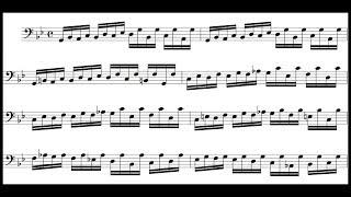 Bach / Marie-Claire Alain, 1960: Pedal-Exercitium, BWV 598