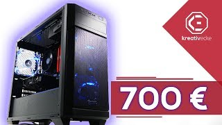 DER SCHNELLSTE 700 EURO GAMING PC 2018 im Test | optimales Preis-Leistungsverhältnis