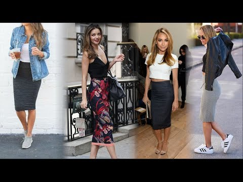 How To wear A Pencil Skirt | Fashion and You | Style tips