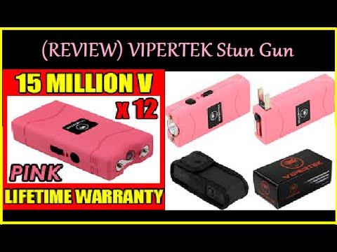 (Review) VIPERTEK Stun Gun PINK VTS-880 15 Million Volt Mini Rechargeable  LED Flashlight