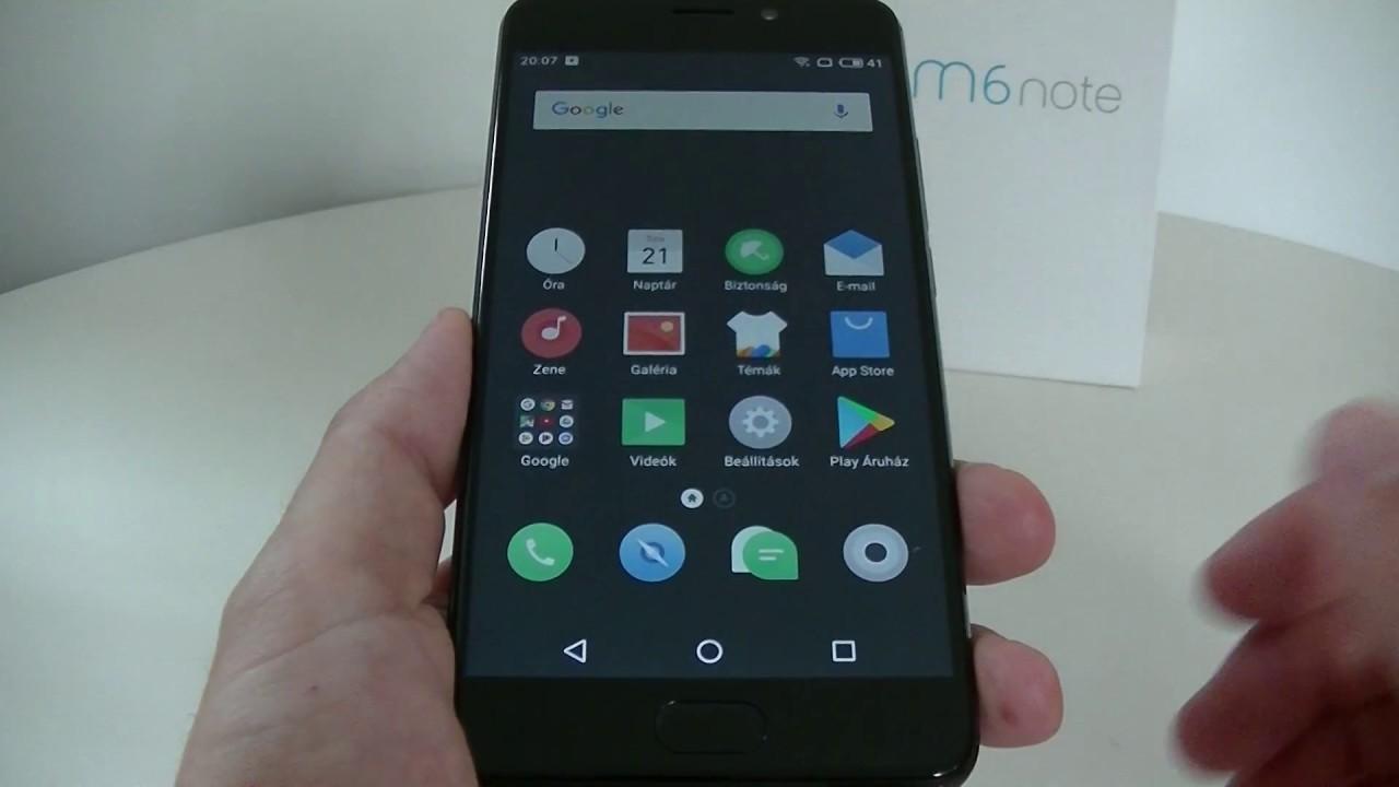 Meizu M6 Note - Flyme OS és HASZNÁLAT | ITFroccs hu