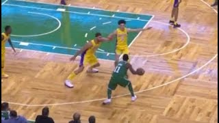 Stephen Curry vs Kyrie Irving Full Highlights 2012.11.07 Cavs at GSW - SICK Handles Duel!