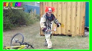 Kruz Clown Pranked His Cousin! Happy Halloween! - Stafaband