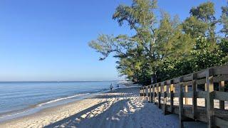 Robb's Thursday Morning Beach walk in North Naples, Florida 10/18/18