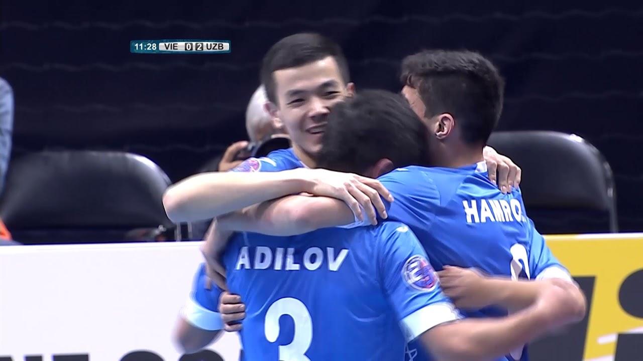 Video: Futsal Việt Nam vs Futsal Uzbekistan