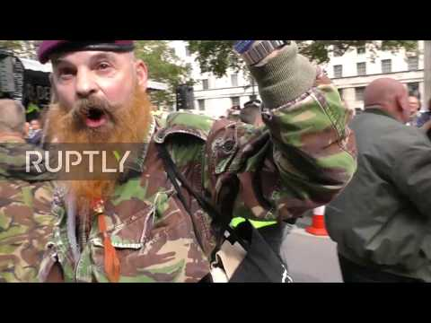 UK: Scuffles as anti-Brexit rally met by counter-protest in London
