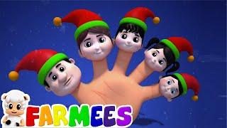 elfos dedo família | natal canção para crianças | Christmas Carols | Elves Finger Family Song