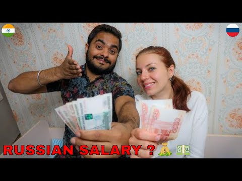 HOW MUCH RUSSIANS EARN ? SALARY IN RUSSIA ! 🇮🇳🇷🇺