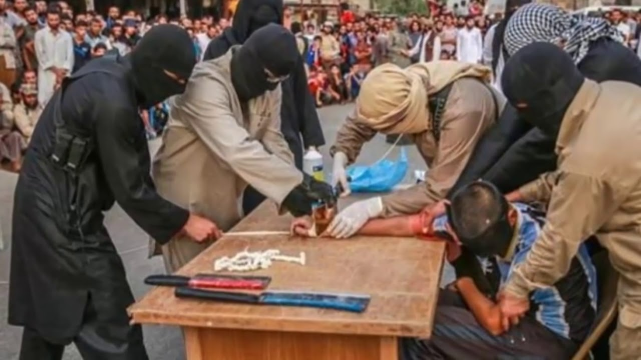Resultado de imagen para imagenes ladrones cortar manos
