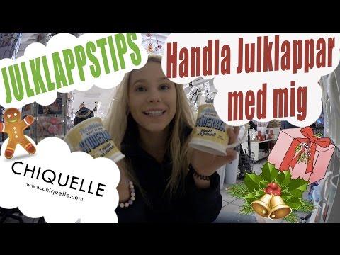 HANDLA JULKLAPPAR   JULKLAPPSTIPS   + Chiquelle haul    Jul med Cattis