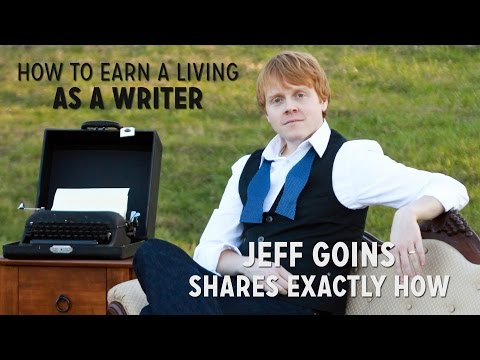 How to Make a Living as a Writer (Jeff Goins Shares Exactly How)
