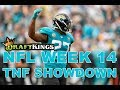 Week 14 NFL Thursday Night Football DraftKings Showdown Picks Jaguars-Titans - Awesemo.com