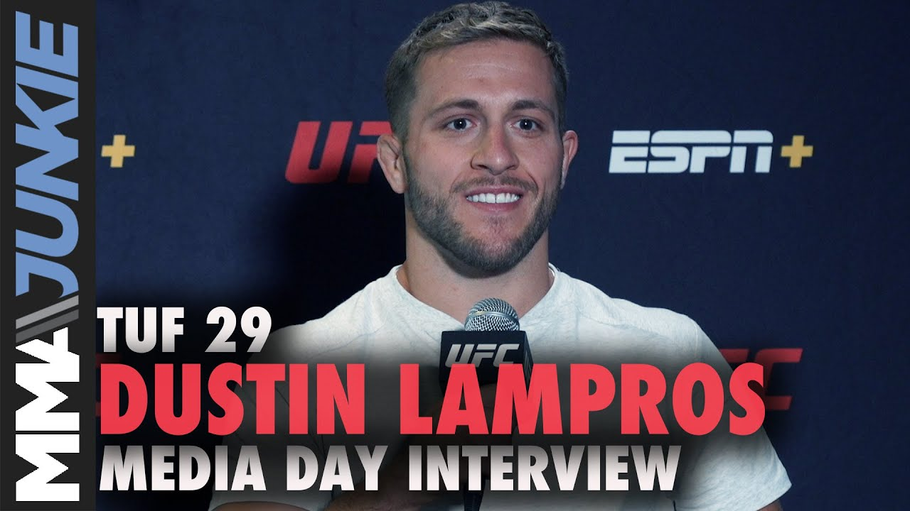 Download Meet 'TUF 29' cast: Dustin Lampros says Tyron Woodley played key role in career