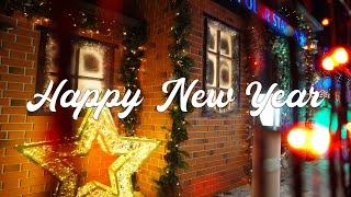 Северное сияние в Алматы 2021. Магия Новогоднего города и красивые декорации. Рождество и улыбки.
