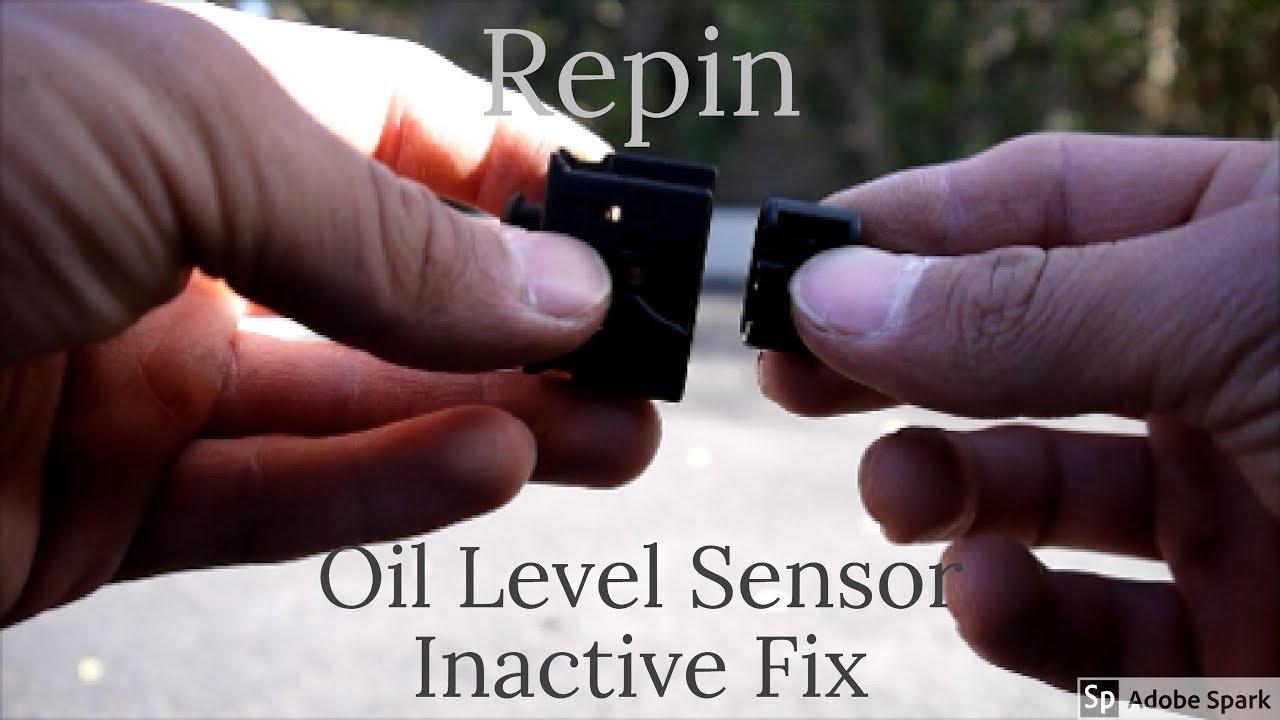 BMW Oil Level Sensor Repin E90