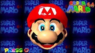 Super Mario 64 - Fขll Game Walkthrough