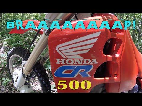Honda CR500 R: First Ride