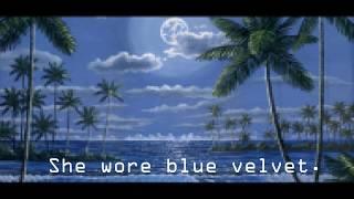 Blue Velvet - vaporwave