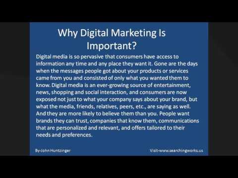 John Huntzinger -What is Digital Marketing