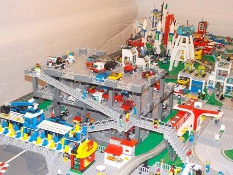 Lego City Garage : Lego city update parking garage youtube