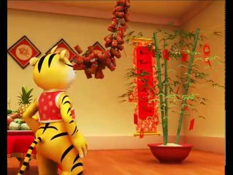 Clip Chúc Mừng Năm Mới có ảnh Con Hổ minh họa ^!^   www DienDanHoiTuSo com   Hội Tụ Bài Viết   Chia Sẽ ý Tưởng   Cùng Đến Thành Công