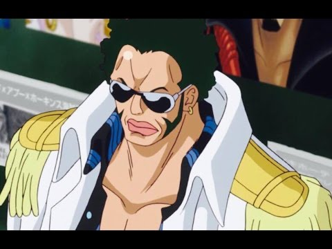 One Piece Admiral Greenbull Youtube