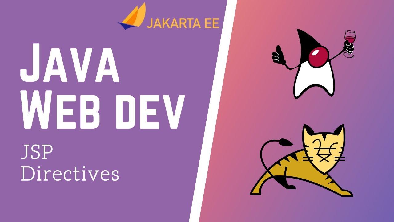 Java Servlets & JSP - JSP Directive Tags