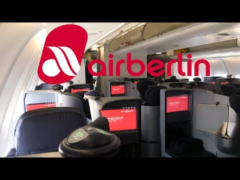 TRIP REPORT | Air Berlin BUSINESS CLASS | A330-200 | Dusseldorf - Los Angeles