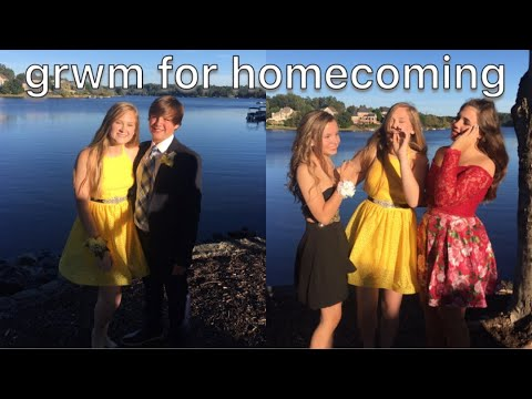 b5045e72d19 HOMECOMING GET READY WITH ME 2018 - freshman