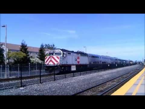 Railfanning Santa Clara, CA 6/9 & 6/10/16
