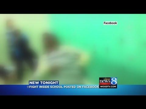Fight inside Battle Creek Middle School Locker Room