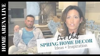Home Planning: Spring Home Decor Ideas + Inspiration
