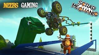 Scrap Mechanic - Super Fantastic Obstacle Course Challenge!