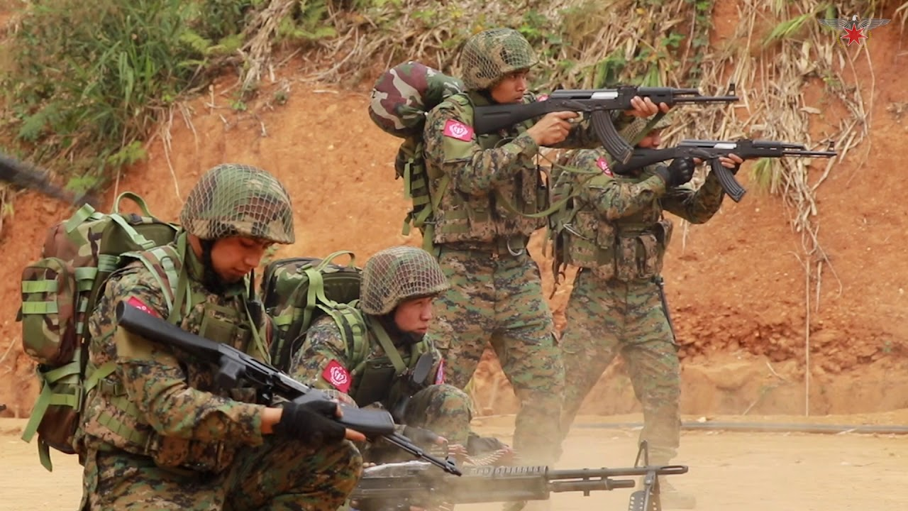 Image result for arakan army