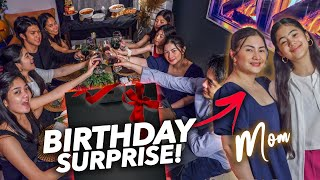 MOMS Birthday Fancy Dinner SURPRISE!! (Bongga!) | Ranz and Niana