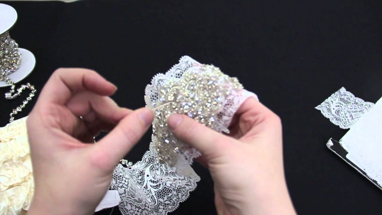 Bridal Garter Tutorial