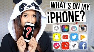 What's On My iPhone 6 + Favorite Apps | Ariel Hamilton