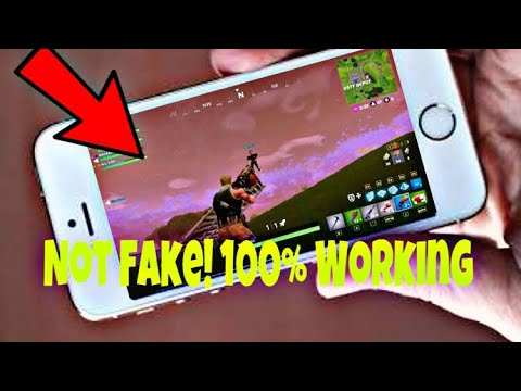 Download How To Play Fortnite On Iphone 5s Fix It Now Complete