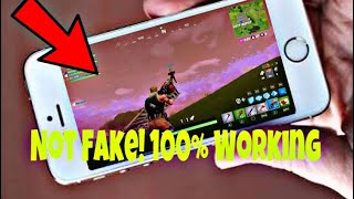 How to Play Fortnite on iPhone 5s Fix it Now!!! Complete Method 10000% Working
