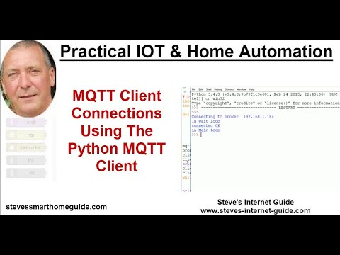 Paho Python MQTT Client - Working with Connections