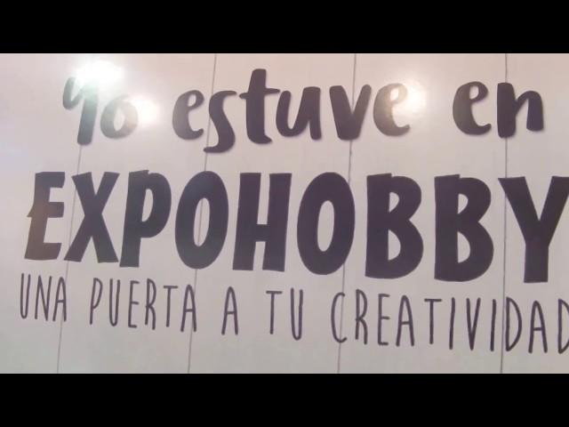 EXPOHOBBY 2018 (parte I) , MANUALIDADES y SCRAPBOOKING ARGENTINA