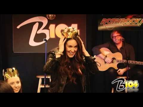 "Britt Nicole ""Gold"" at B104"