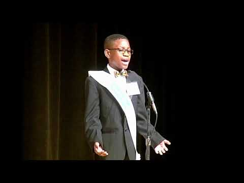 Jeremiah Wilson-26th Annual Gardere MLK Jr. Oratory Competition Finals