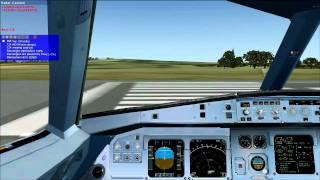 FSX Flight: Easyjet Belfast - Geneva Part 1 (Take Off)