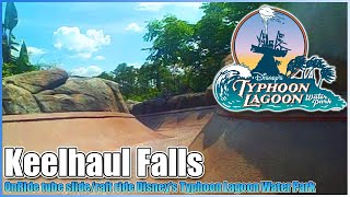Keelhaul Falls Water Tube Slide Flume Disney's Typhoon Lagoon Water Park Walt Disney World Resort
