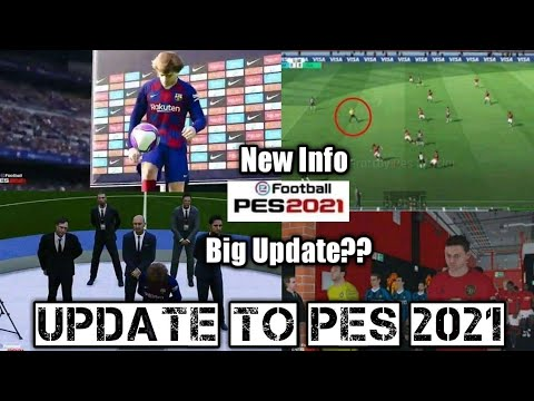 Big Update PES Mobile 2020 Up To PES Mobile 2021 ??