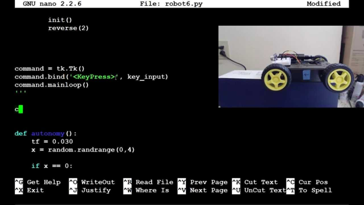 Raspberry pi with Python for Robotics 12 - Autonomous beginnings
