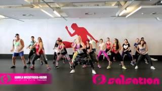 PSquare - Shekini - Salsation choreography by  Elite Trainer Kamila W