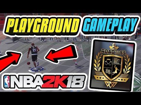 NBA 2K18 PLAYGROUND GAMEPLAY ᴴᴰ • MyPARK IN NBA 2K18 PRELUDE OMG 😱• PLAYGROUND GAMEPLAY LEAKED😲
