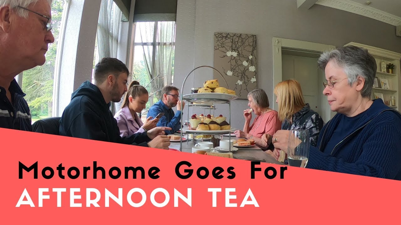 Motorhome Goes For Afternoon Tea At Bartle Hall